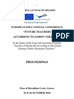 Proceedings Europ Edu Conference Total