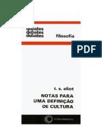 Notas para uma Definição de Cultura - T[1]. S. Eliot
