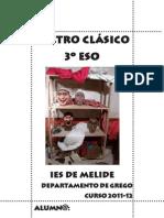 Teatro Clásico 3º ESO. Curso 2011-12