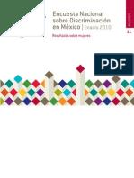 Encuesta sobre Discriminación contra Mujeres - Enadis 2010