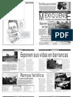 Versión impresa del periódico El mexiquense 15 marzo 2012