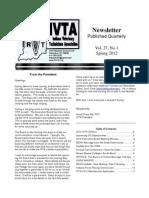 IVTA Spring 2012 Newsletter
