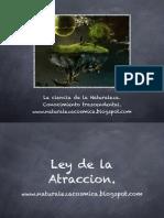 Manual de la  Ley Atracción.