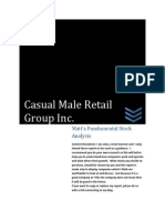 CMRG Investment Analysis