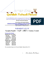 Parashat Vayaqel-Pequdei # 22, 23 Adul 6012