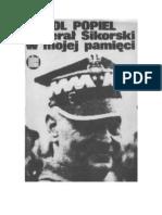 Popiel, Karol - Generał Sikorski w mojej pamięci – 1983 (zorg)