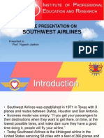 29091698 Southwest Airlines Case Study