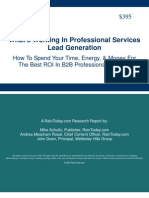Whats Working in Lead Generation