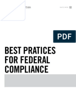 Best Practices for Federal Compliance