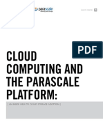 Cloud Computing and the ParaScale Platform