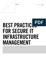 Best Practices for Secure IT Infrastructure Management