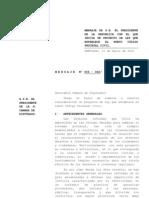 P.L Nuevo Código Procesal Civil