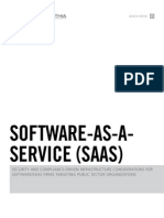 Security and Compliance-Driven Infrastructure Considerations for Software/SaaS Firms Targeting Public Sector Organizations
