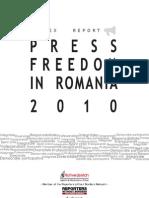 2011 Informe Rumania Ingles