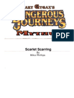 Mythus Adventure - Scarlet Scarring