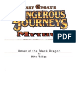 Mythus Adventure - Omen of the Black Dragon