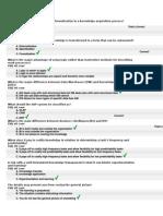 Final Exam Questions