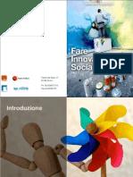 Fare Innovazione Sociale - Catalogo Corsi 2012