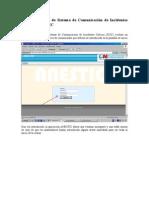 Guía de Usuario de Sistema de Comunicación de Incidentes Críticos ANESTIC
