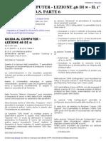 Guida al Computer - Lezione 46 - Il 1° Avvio - Il B.I.O.S. Parte 6