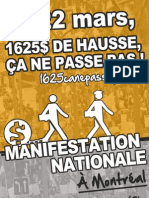 Affiche 3 - Manifestation nationale 22 mars 2012