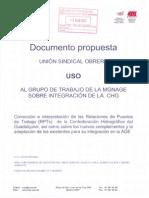 Alegaciones USO RPT CHG