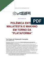 Polêmica entre Malatesta e Makhno em torno da Plataforma.pdf