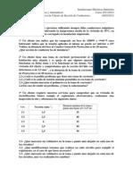 3º Bloque de Ejercicios de cálculo de Sección de Conductores 2012