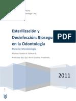 Esterilización y Desinfección