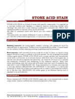 Stone Acid Stain Eng