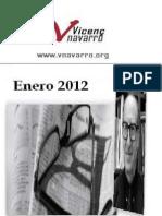 Vicenç  Navarro  Enero 2012