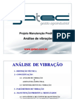 manutenção preditiva - analise vibrações
