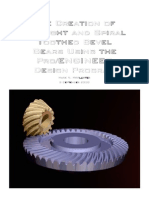 Bevel Gears in ProE