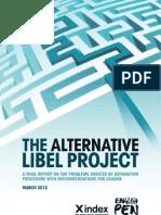Alternative Libel Project - Final Report