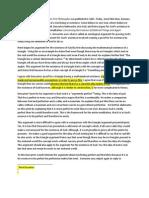 René Descartes paper 3