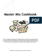 master mix cookbook