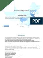 China Glass Fibre Mfg. Industry Profile Cic3147