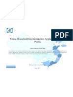 China Household Electric Kitchen Appliances Industry Profile Cic3954