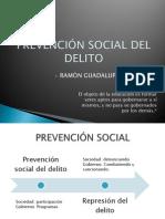 PREVENCIÓN SOCIAL DEL DELITO