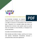 Proyecto 6 Herramientas Tecnologicas