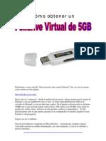 Cómo obtener un Pendrive Virtual de 25GB
