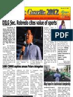Deped Naga Gazette - Palarong Bikol 2012 - Issue 2