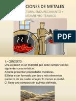 ALEACIONES DE METALES