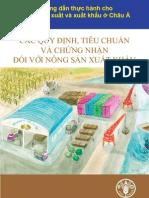 các quy định, tiêu chuẩn và chứng nhận đối với nông dân