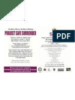 Project Safe Surrender