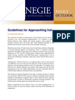 Guidelines for Approaching Iran