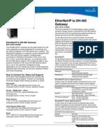 ProSoft DFNT DH485 Datasheet