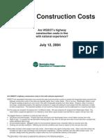 Highway Costs
