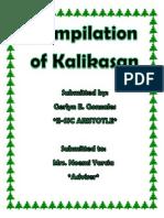 Compilation of Kalikasan