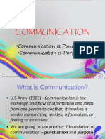 Function of Communication
